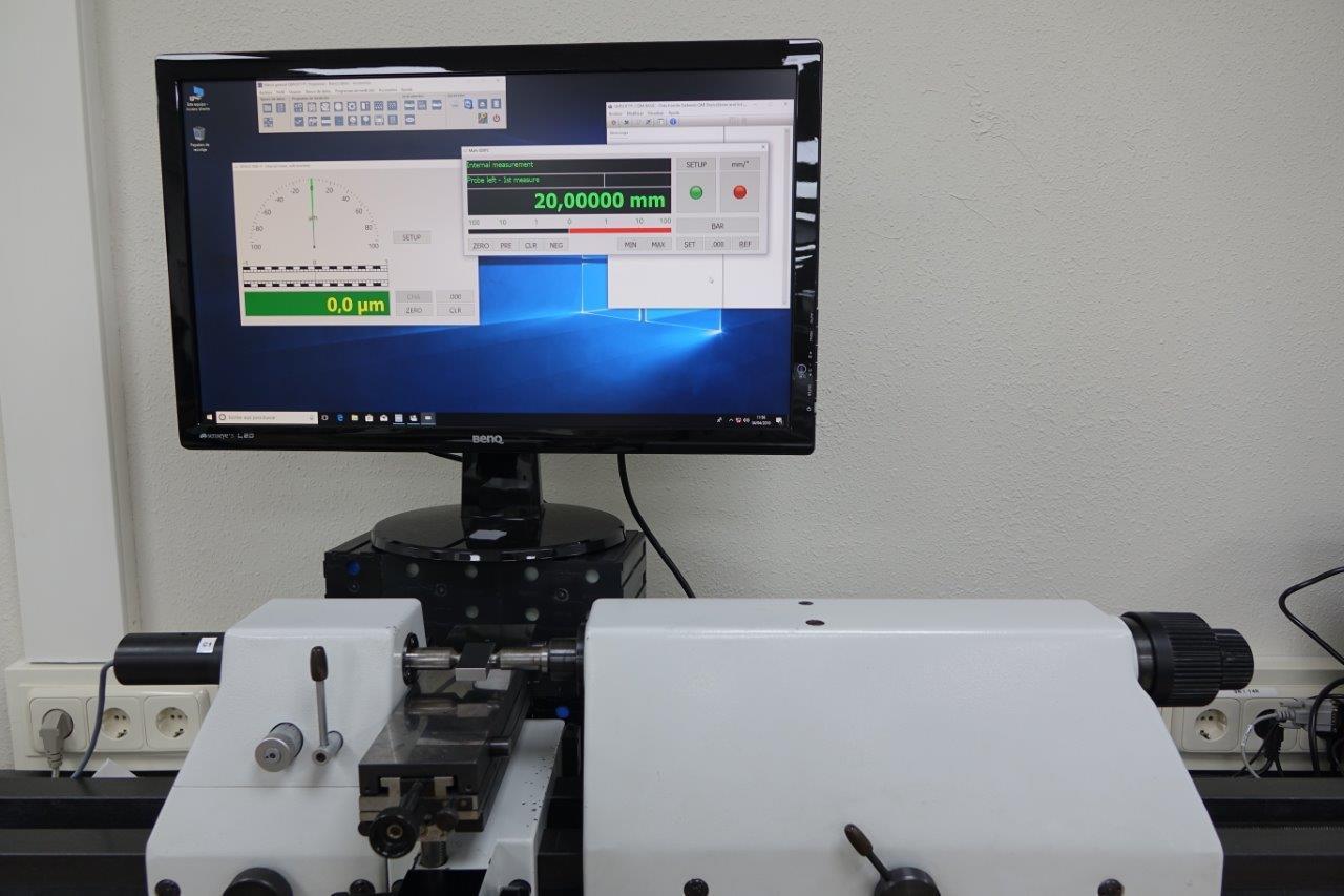 Retrofit bancos de calibración FREMAP