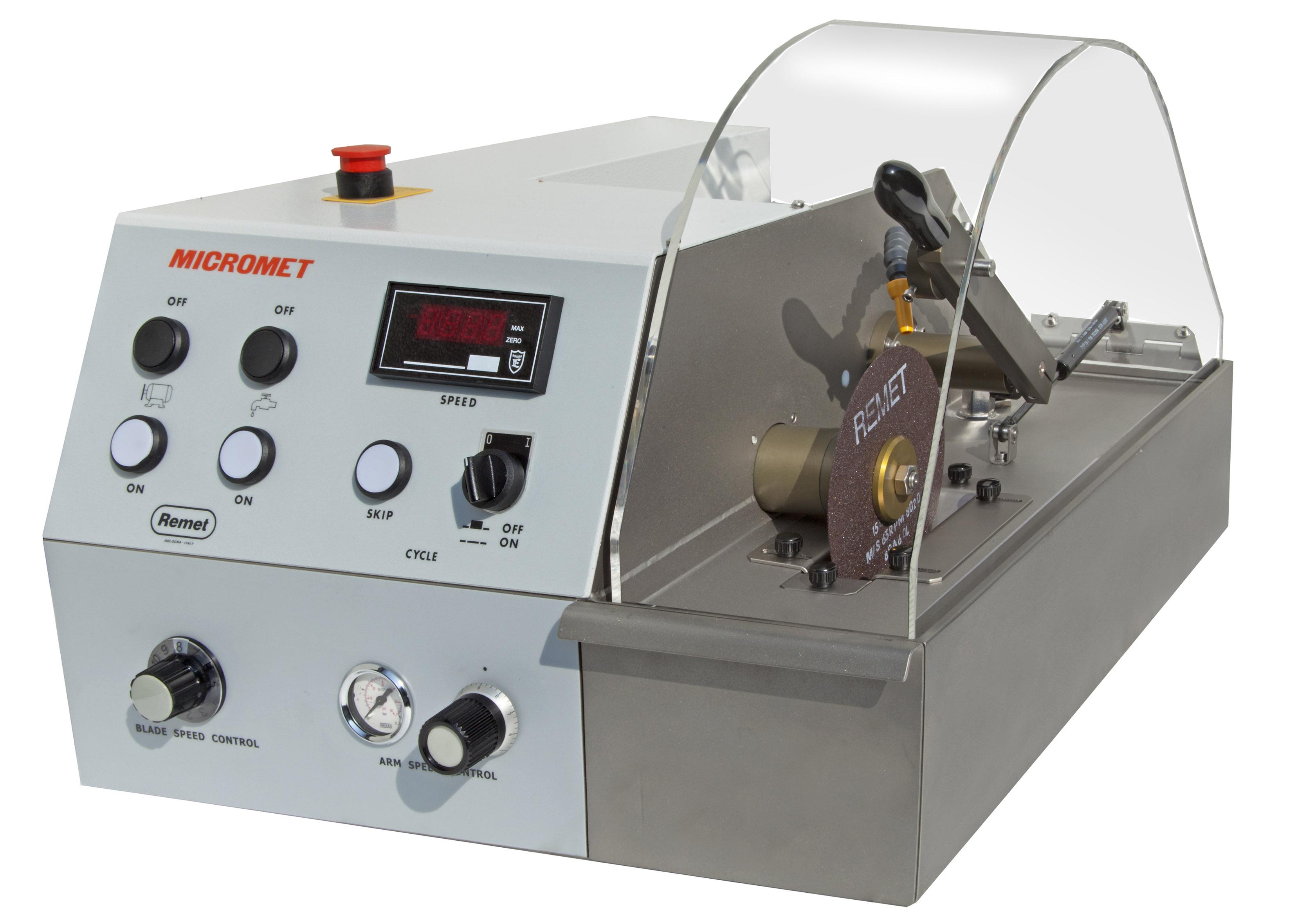Cortadora metalográfica Micromet