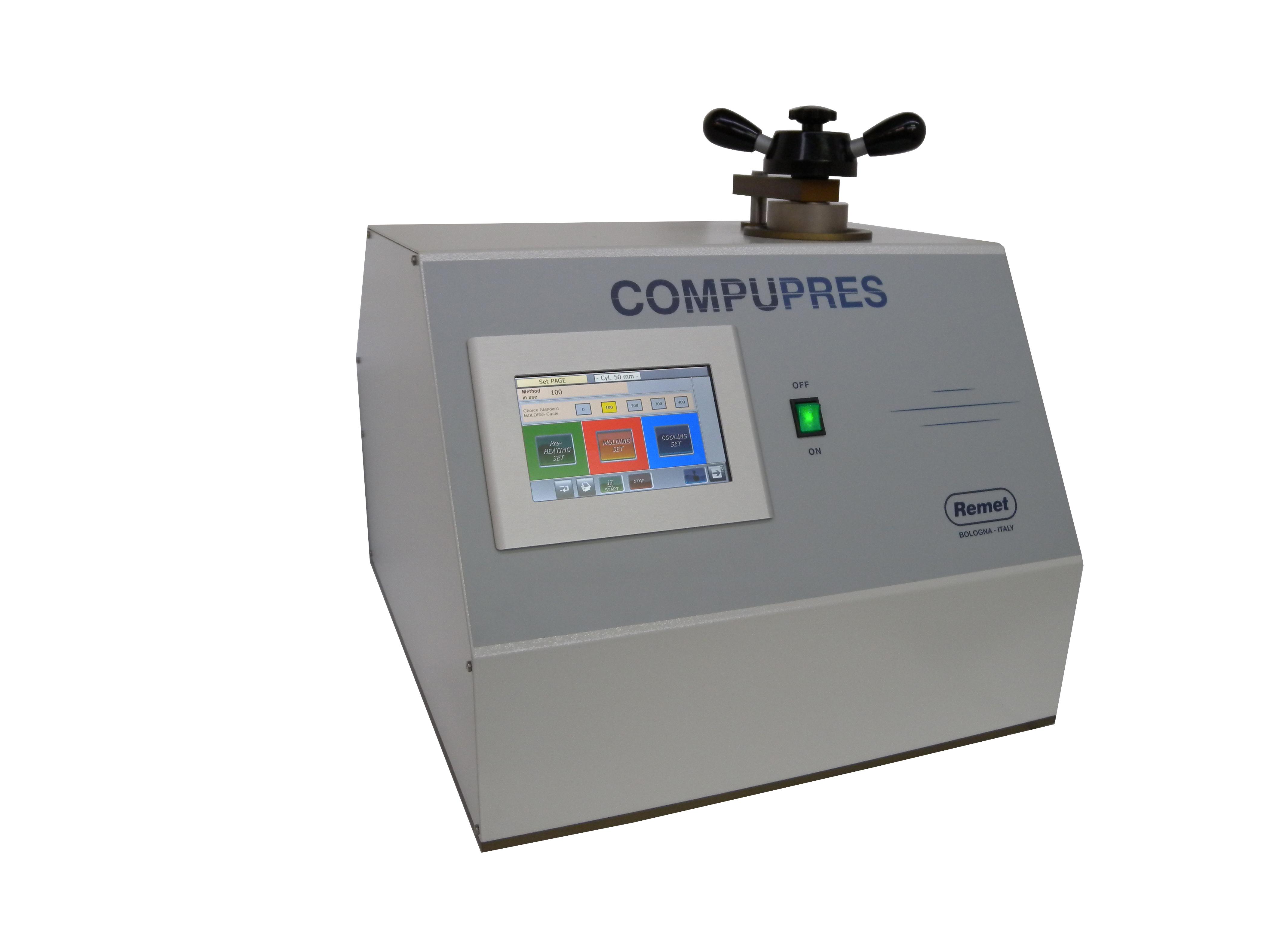 Prensas metalográficas Compupres 2014