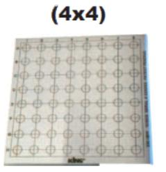 Bloque patrón King Master (4x4)